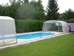 bazén - zastřešení
